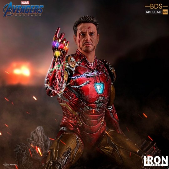 Avengers: Endgame Battle Diorama Series Art Scale Statue 1/10 I am Iron Man 15 cm