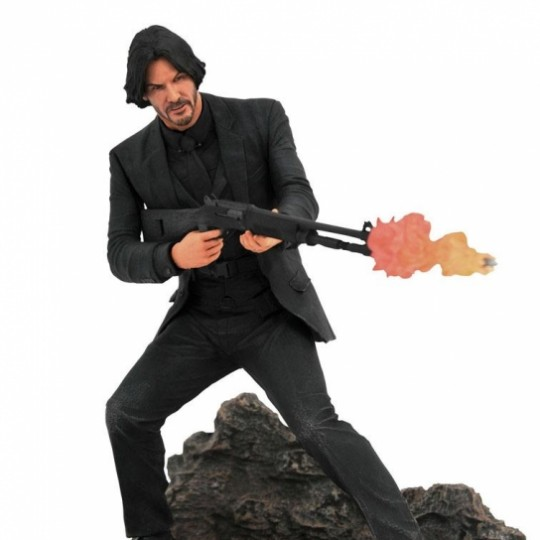 John Wick Gallery PVC Statue Catacombs 23 cm
