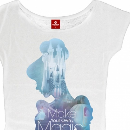 Cinderella Ladies T-Shirt Magic Girl