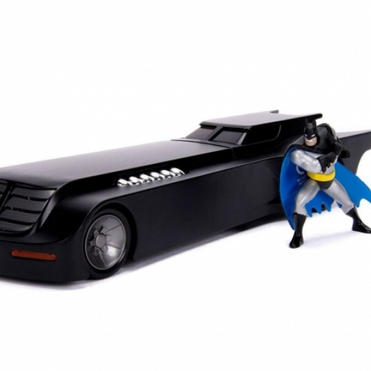 Batman The Animated Series Metals Diecast Model 1/24 23 cm Batmobile with figure