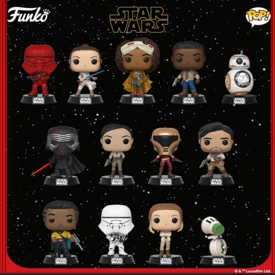 Star Wars Episode IX POP! Movies Vinyl Figure 9 cm
