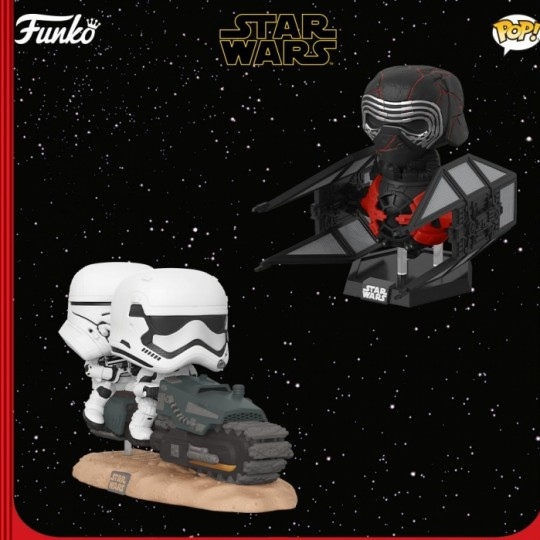Star Wars Episode IX POP! Movie Moment Vinyl Figure  9 cm