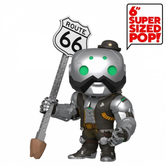 Overwatch Super Sized POP! Vinyl Figure B.O.B. 15 cm