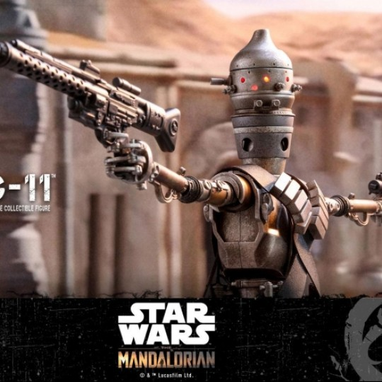 Hot Toys Star Wars The Mandalorian Action Figure 1/6 IG-11 36 cm