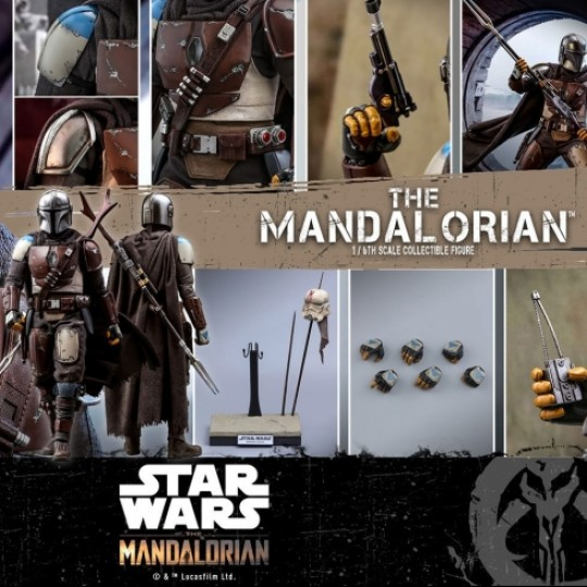 Hot Toys Star Wars The Mandalorian Action Figure 1/6 The Mandalorian 30 cm