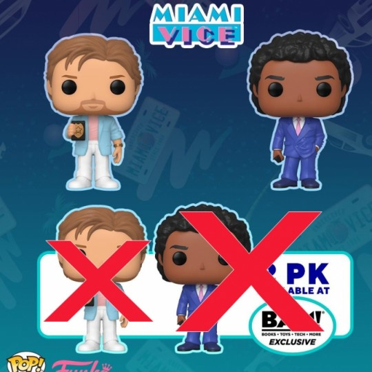 Miami Vice POP! TV Vinyl Figure 9 cm