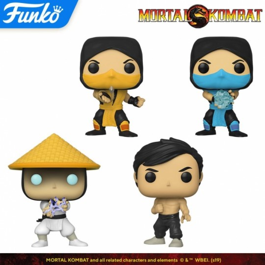Mortal Kombat POP! Games Vinyl Figure 9 cm