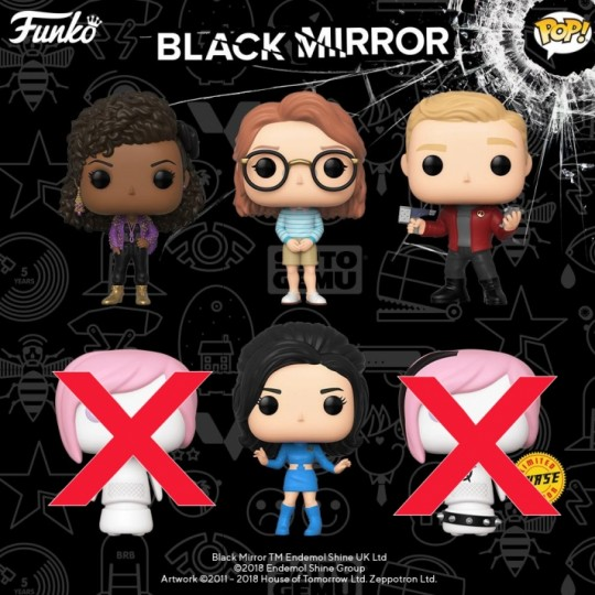 Black Mirror POP! TV Vinyl Figure  9 cm