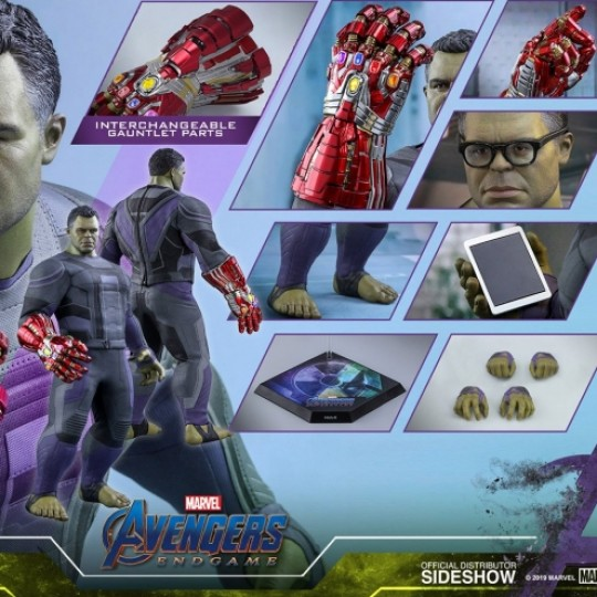 Hot Toys Avengers: Endgame Movie Masterpiece Action Figure 1/6 Hulk 39 cm