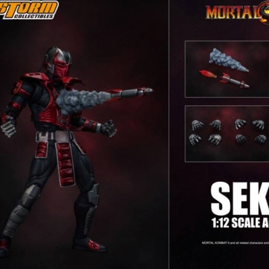Mortal Kombat Action Figure 1/12 Sektor 18 cm