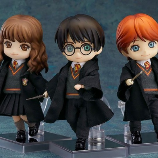 Harry Potter Nendoroid Doll Action Figure Harry / Ron / Hermione14 cm