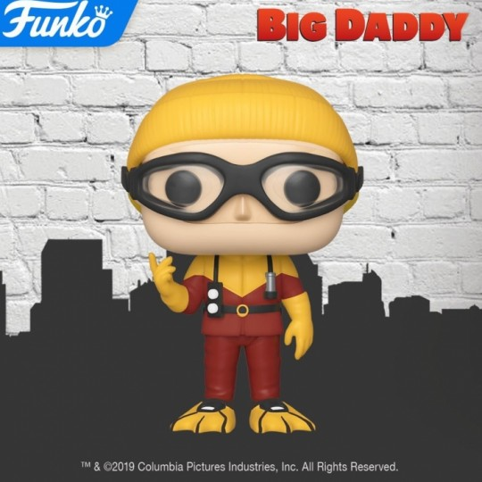 Big Daddy POP! Movies Vinyl Figure Scuba Sam 9 cm