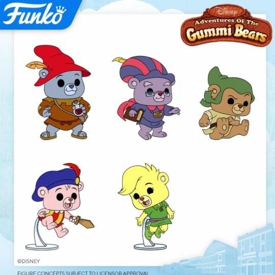 Adventures of Gummi Bears POP! Disney Vinyl Figure 9 cm