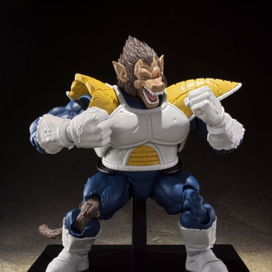 Dragon Ball Z S.H. Figuarts Action Figure Great Ape Vegeta Tamashii Web Exclusive 35 cm