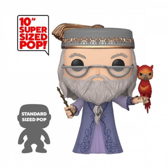 Harry Potter Super Sized POP! Movies Vinyl Figure Dumbledore 25 cm