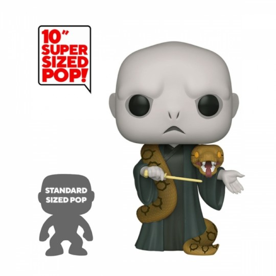 Harry Potter Super Sized POP! Movies Vinyl Figure Voldemort w / Nagini 25 cm