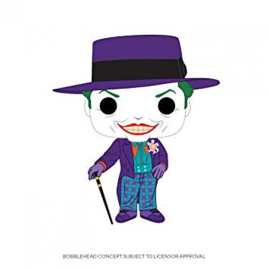Batman 1989 POP! Heroes Vinyl Figures Joker 9 cm