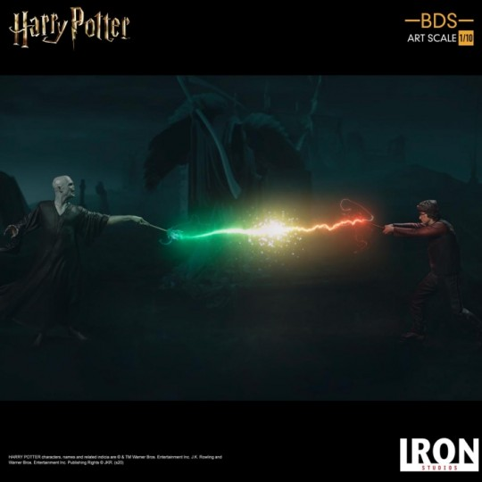Harry Potter Goblet of Fire Battle diorama Series Statue 1:10 Harry Potter / Voldemort 18/24 cm
