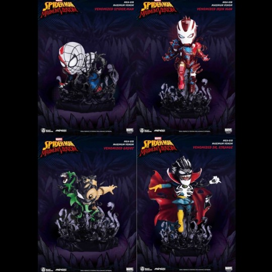 Marvel Maximum Venom Collection Mini Egg Attack Figure  9 cm