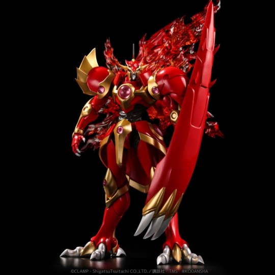 Magic Knight Rayearth Diecast Action Figure Riobot Rayearth 18 cm