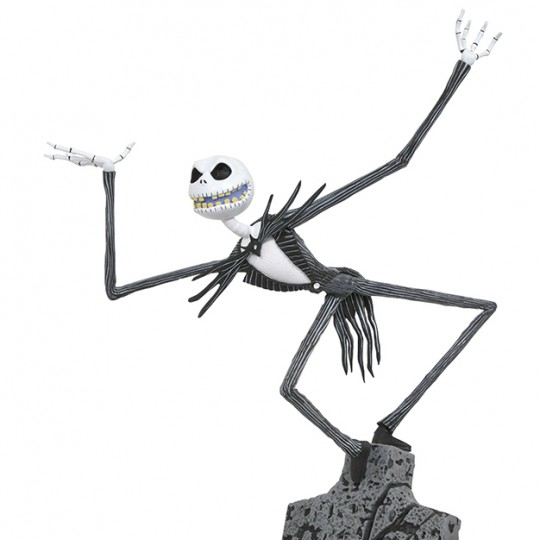 Nightmare Before Christamas Gallery PVC Statue Jack Skellington 27 cm