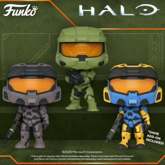 Halo Infinite POP! Games Vinyl Figure 9 cm