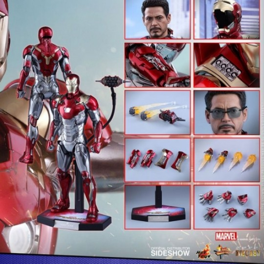 Hot Toys Spider-Man Homecoming Diecast Action Figure 1/6 Iron Man Mark XLVII 32 cm