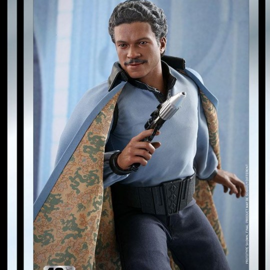 Star Wars Action Figure 1/6 Lando Calrissian The Empire Strikes Back 40th Anniversary 30 cm