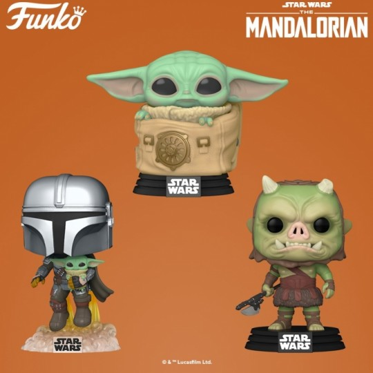 Star Wars The Mandalorian POP! TV Vinyl Figure Child in Bag