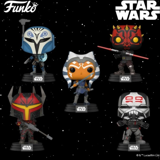 Star Wars: Clone Wars POP! Star Wars Vinyl Figure 9 cm