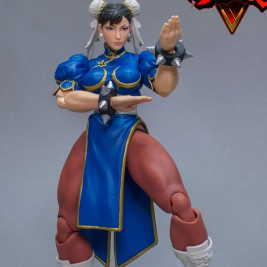 Street Fighter V Action Figure 1/12 Chun-Li 17 cm