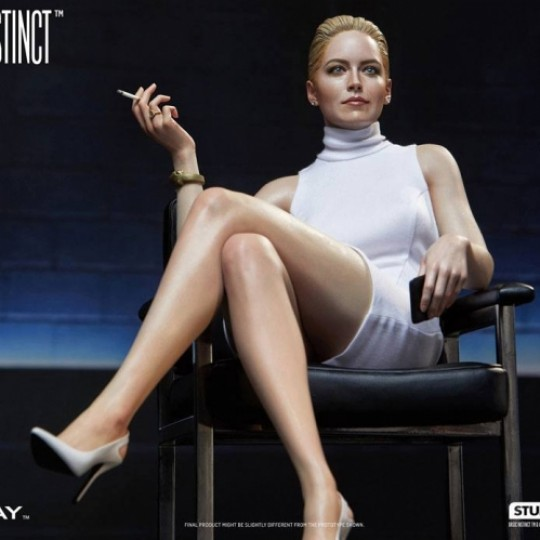 Basic Instinct Superb Scale Hybrid Statue 1/4 Sharon Stone Catherine Tramell 32 cm