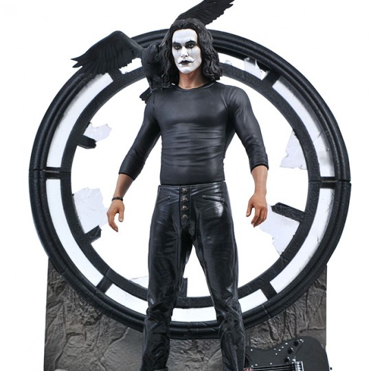 THE CROW MOVIE GALLERY PVC STATUE 25 cm