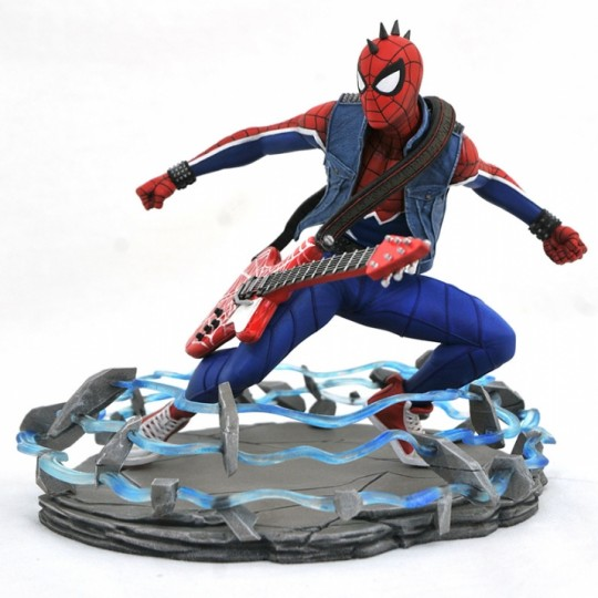 MARVEL GALLERY PS4 SPIDER-PUNK PVC STATUE 20 cm