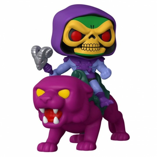 Masters of the Universe POP! Rides Vinyl Figure Skeletor on Panthor 18 cm