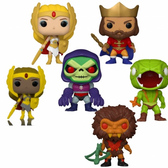 Masters of the Universe POP! Animation Vinyl Figure 9 cm