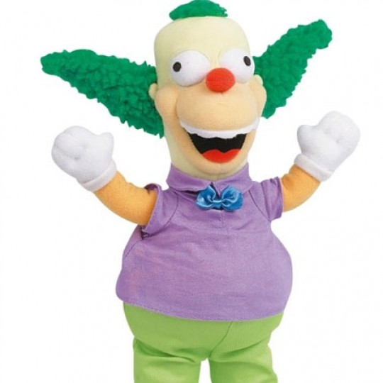 SIMPSONS Peluche Krusty The Clown 31 cm