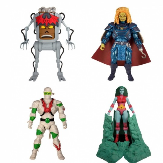 Masters of the Universe Classics Action Figures 18 cm Collector's Choice Wave 2