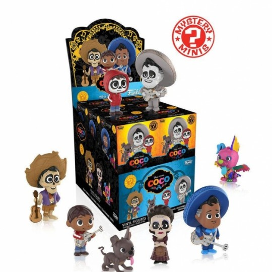 Coco Mystery Minis Vinyl Mini Figures 6 cm Display