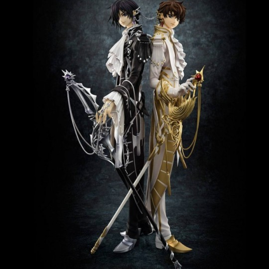 Code Geass: Lelouch of the Rebellion G.E.M. Series Statues 1/8 Clamp Works in Lelouch & Suzaku 25 cm