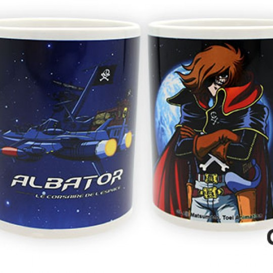 Captain Harlock Mug 320 ml Harlock and Arcadia