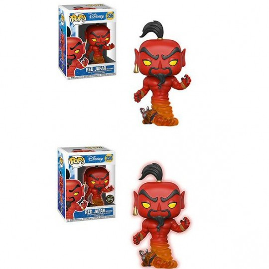 Aladdin POP! Vinyl Figure Red Jafar Regular + Chase 9 cm