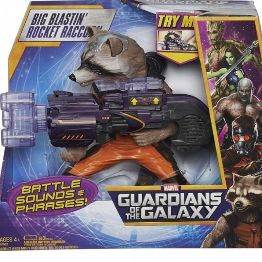 Guardian of the galaxy Rocket Raccoon Big Blastin