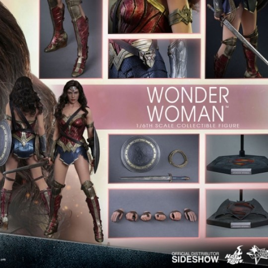 Batman v Superman Dawn of Justice Movie Masterpiece 1/6 Wonder Woman 29 cm