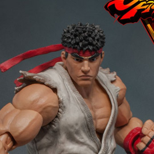 Street Fighter V Action Figure 1/12 Ryu 18 cm