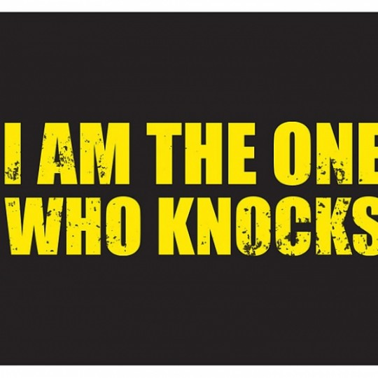 Breaking Bad Rug I am the one who knocks 70 x 50 cm