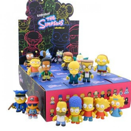 The Simpsons Mini Figure Vol.1 8 cm