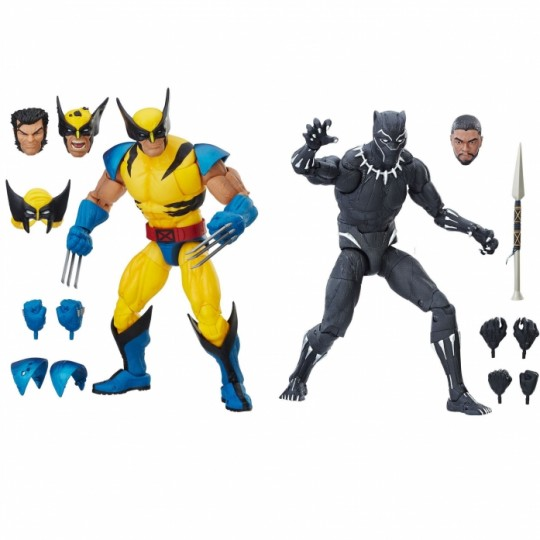 Marvel Legends Series Action Figure 2018 Wolverine / Black Panther 30 cm