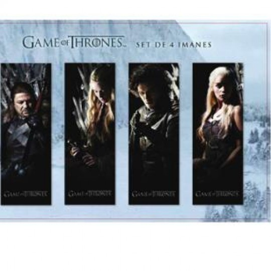 GAME OF THRONES MAGNETIC BOOKMARK SET A