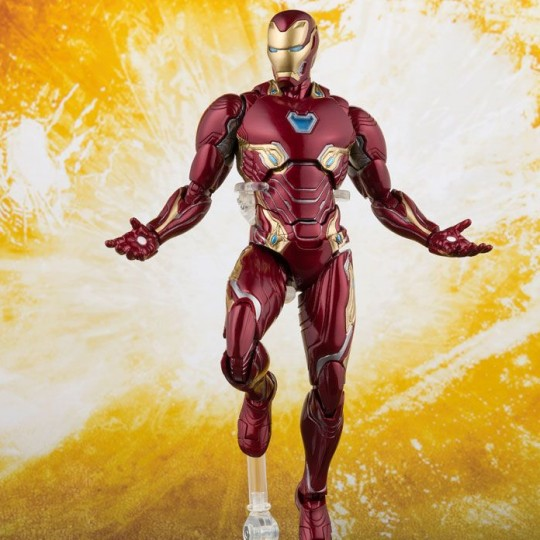 Avengers Infinity War S.H. Figuarts Action Figure Iron Man Mark 50 & Tamashii Stage 16 cm